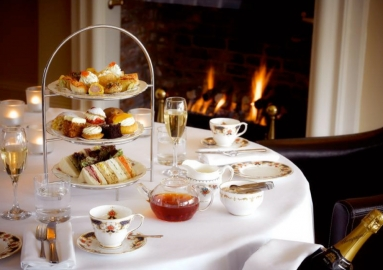 The Angel Hotel, Abergavenny sell Afternoon Tea Gift Vouchers.