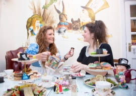 An Alice in Wonderland Mad Hatters Tea Party