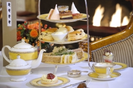 Beautifully presented Afternoon Tea food