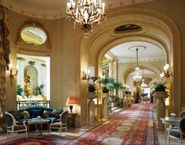 The interior of The Ritz, London