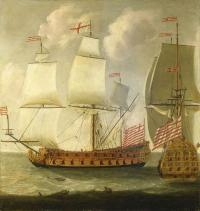 East Indiaman - trading ships that carried tea