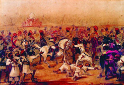 The Indian Mutiny in 1857