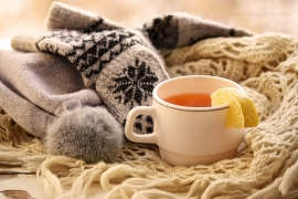 Winter cup of tea from weheartit.com