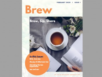 The first edition of our new e-zine 'Brew'.