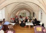 Afternoon Tea in The Undercroft at Priory House Tea Rooms