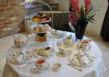 Afternoon tea table at the Millennium Hotel, London