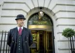 Doorman at the Millennium Hotel, London